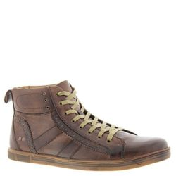 Bed Stu Brentwood Men's Leather High Top Shoes Fashion Sneakers Mocha