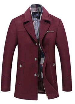 BNPorter Warren Winter Coat Men Coat Men M 6XL Size Men Winter Wool Coat Men Thick Wool Jacket