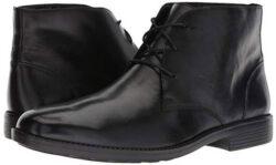 Bostonian Men's Birkett Mid Chukka Boot black leather