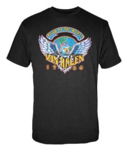 FEA Men's Van Halen 1984 Tour Of The World Men's T-Shirt