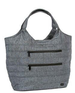 Lug Gondola Xl Shoulder Bag, Heather Gray Shoulder Bag