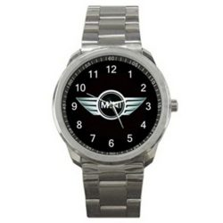 HSS149	Mini Cooper Car Automobile Logo #A Sport Metal Watch by Wristwatches