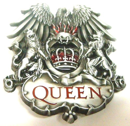 Queen Band Belt Buckle (Brand New) by American Pride