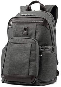 Travelpro Luggage Platinum Elite 17.5″ Business Computer Backpack vintage grey