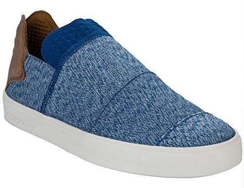 adidas Originals Mens Pharrell Williams Slip On Trainers In Blue.