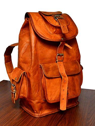 ADIMANI Handmade Vintage Leather Backpack