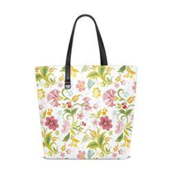AHOMY Floral Lady Personalized casual Shoulder Bag Satchel Handbag Tote Bag Handbag for Women Girls
