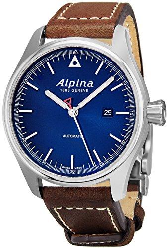 Alpina Startimer Pilot Automatic Date 44mm Blue Face Swiss Alpina Watch Men – Limited Edit ...