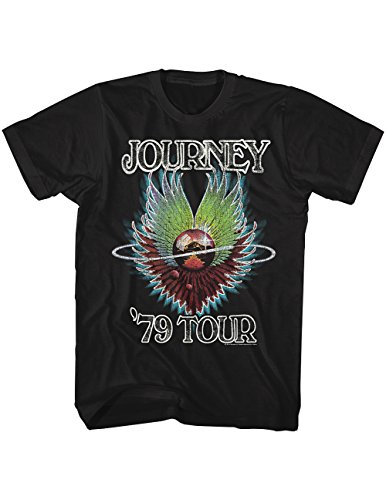 American Classics Journey 1979 Tour Dates and Venues T-Shirt, Officially Licensed