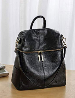 ANA LUBLIN Women Backpack Purse Leather Fashion Travel Casual Crossbody Shoulder Daypack Bags, b ...