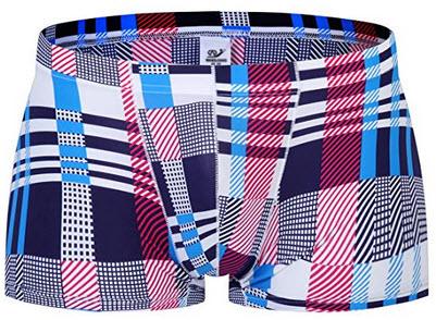 Arjen Kroos Men's Low Rise Boxer Briefs Underwear lattice