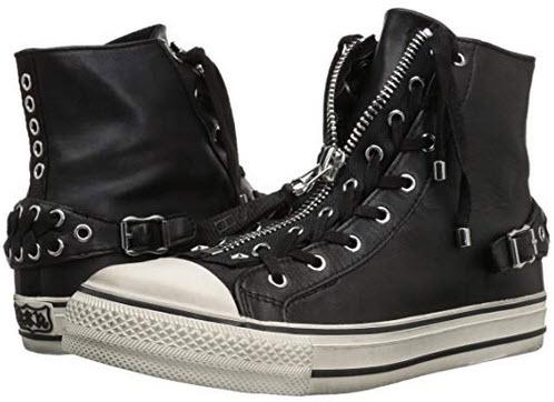 Ash Women's AS-Venus Sneaker black off white