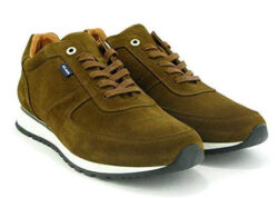 Atlanta Mocassin Men's Runners in Brown Suede