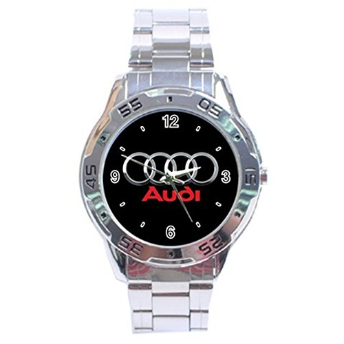 Audi Black Logo Sport Metal Watch Special Edition by The A-Watch Shop
