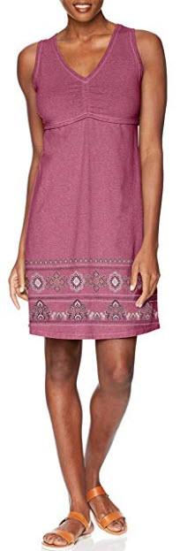 Aventura Women's Amberley Dress, violet quartz