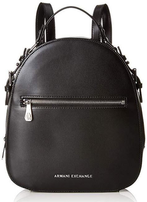 A|X Armani Exchange Top Handle Backpack, nero black 189
