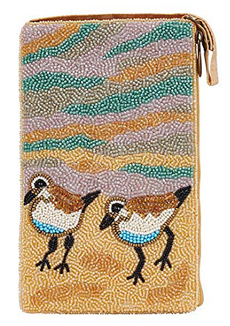 Bamboo Trading Company Cell Phone or Club Bag, Sandpiper Pair