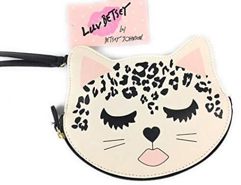 Betsey Johnson Coin Purse Leopard