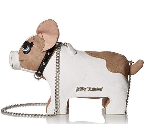 Betsey Johnson Roxy Frenchie Dog Crossbody