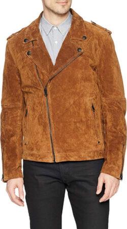 [BLANKNYC] Rusty Knot Suede Moto Outerwear