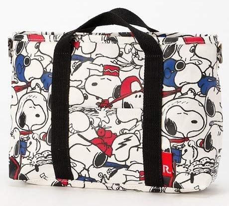 BLY Peanuts Snoopy 2way Bag (Tote and Shoulder Bag) Face 448201