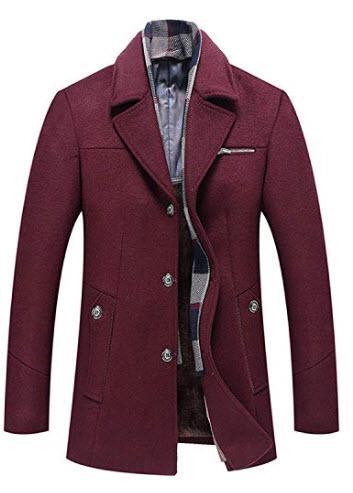 BNPorter Warren Winter Coat Men Coat Men M 6XL Size Men Winter Wool Coat Men Thick Wool Jacket