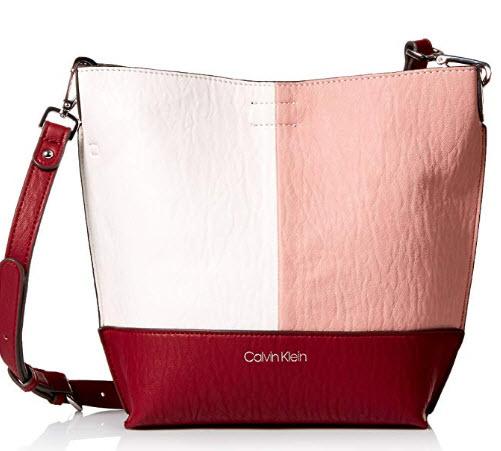 Calvin Klein Sonoma Bubble Lamb Novelty Key Item Bucket Crossbody