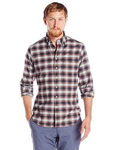 Carson Street Clothiers Men's Plaid Flannel Button Down Shirt