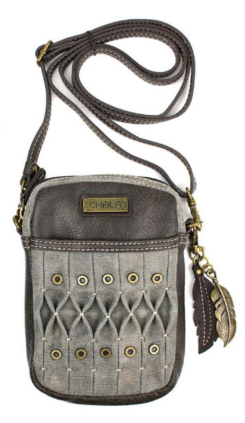 Chala Cell Phone Crossbody Purse – Handbag with Adjustable Strap – Olive