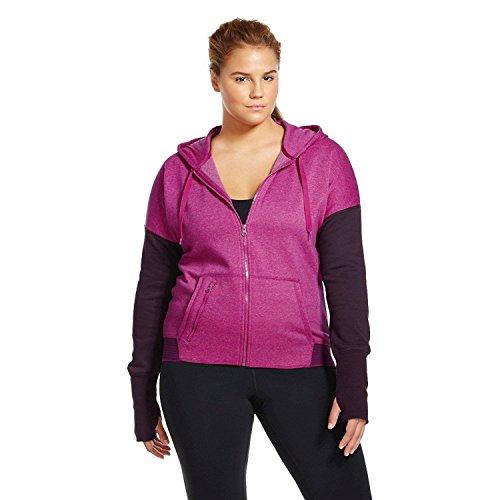 Champion C9 Women's Plus Size Active Fleece Hoodie