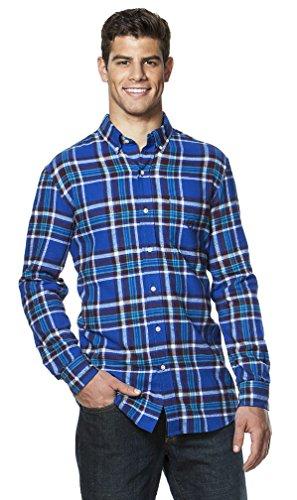 Chaps Men's Classic-Fit Plaid Flannel Button-down Shirt