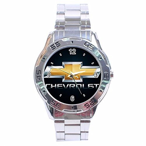 Chevrolet Logo Stainless Steel Analogue Men Watch Special Edition by The A-Watch Shop