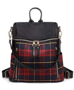 CHOUDAO Women Backpack Purse Lightweight Fashion Canvas Ladies Handbag Shoulder Bag