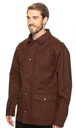 Cinch Men's Canvas Ranch Coat – Mwj1056001 Brn
