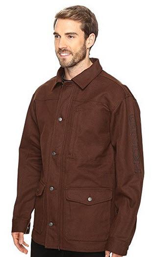 Cinch Men's Canvas Ranch Coat – Mwj1056001 Brn