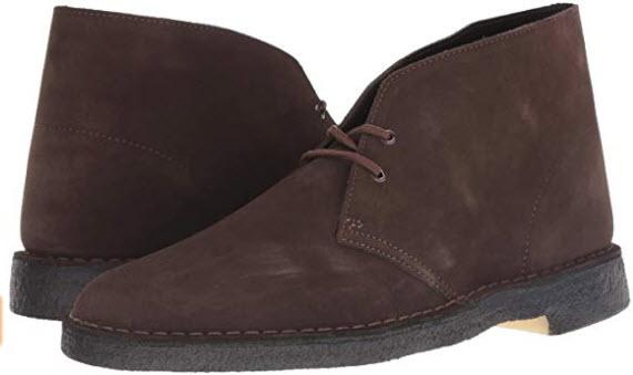 Clarks Men's DESERT BOOT Boot, brown suede, 110 M US