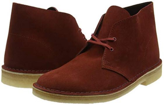 CLARKS Originals Desert Boot Mens Suede Leather Boots (13 US, Brown)