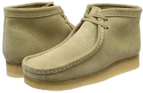 CLARKS Originals Wallabee Boot Mens Chukka Boots suede