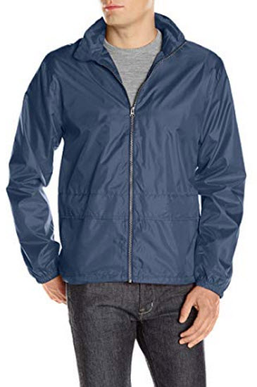 Clique Men's Moss Windbreaker Jacket dark navy