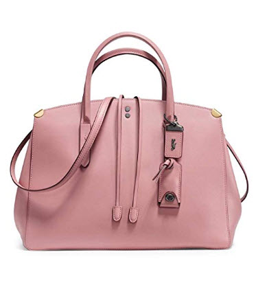 Coach 1941 Cooper Glove-Tanned Carryall Tote Bag in Dusty Rose