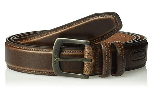 Columbia Mens Casual Leather Belt brown