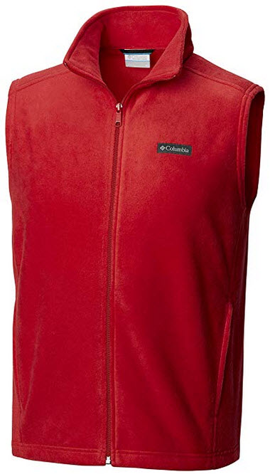 Columbia Men's Steens Mountain Vest mountain red