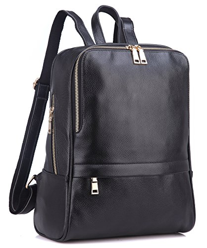Coolcy Hot Style Women Real Genuine Leather Backpack Fashion Bag
