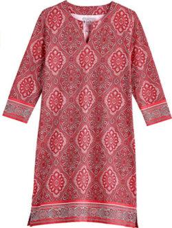 Coolibar UPF 50+ Women's Oceanside Tunic Dress – Sun Protective