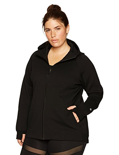 Core 10 Women's Plus Size Motion Tech Fleece Full-Zip Hoodie