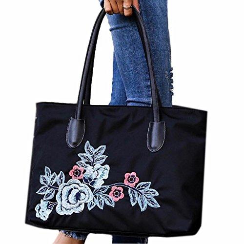 Dahliate Women's Floral Top-Handle Handbag Toto Messenger Bag Casual