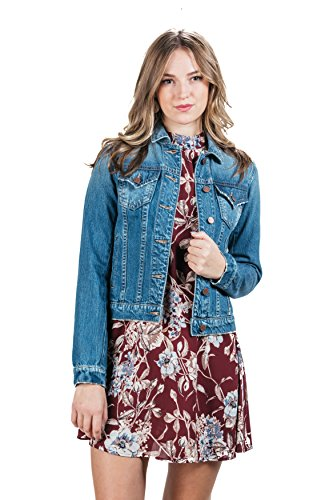Darling in Denim Jacket by Miss Me