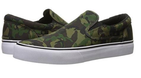 DC Men's Trase Slip-On SP Skate Shoe camo