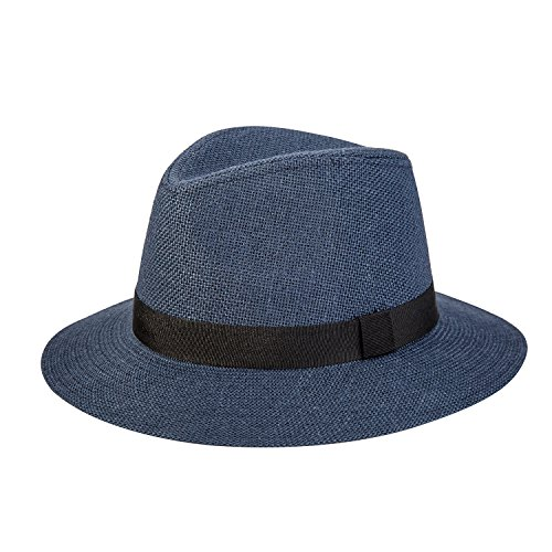 deevoov Unisex Fedora Hat Spring Summer Hats Vintage Trilby Hat