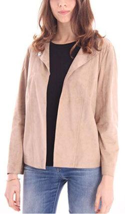 DESABeige Jacket in Suede Shirt Model, Womens.
